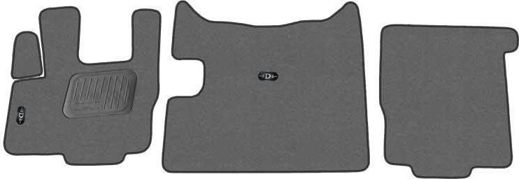Kilimėliai COMFORT DAF 105 XF manual / 2006- 3p
