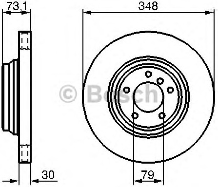 Stabdžių diskas (BOSCH) 0 986 479 265