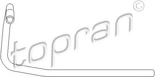 Radiatoriaus žarna (TOPRAN) 104 132