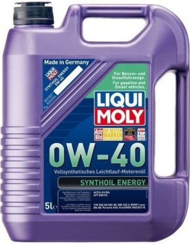 Liqui Moly Synthoil Energy 0W40 5L