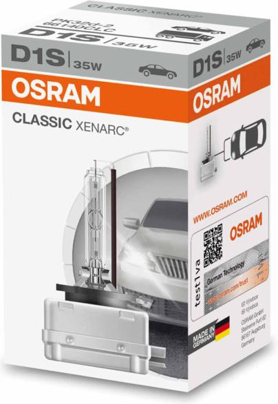 D1S OSRAM CLASSIC XENARC 35w 85V