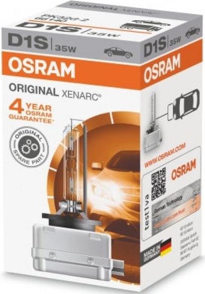 D1S OSRAM XENARC ORIGINAL 35w 85V