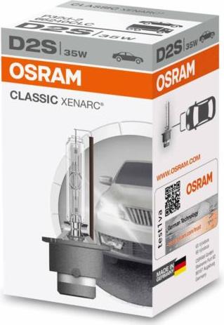 D2S OSRAM CLASSIC XENARC 35w 85V