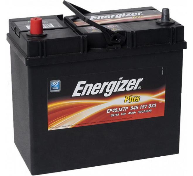 Energizer 45Ah Jap (+ -) Plus akumuliatorius