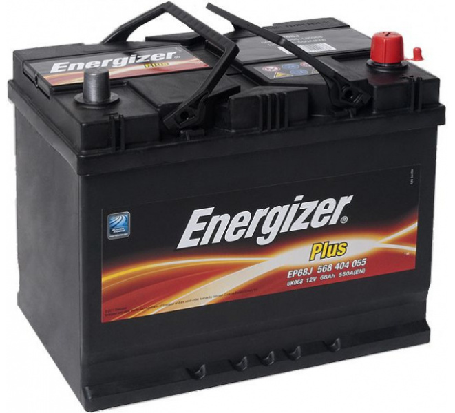 Energizer 68 Ah Jap (- +) Plus akumuliatorius