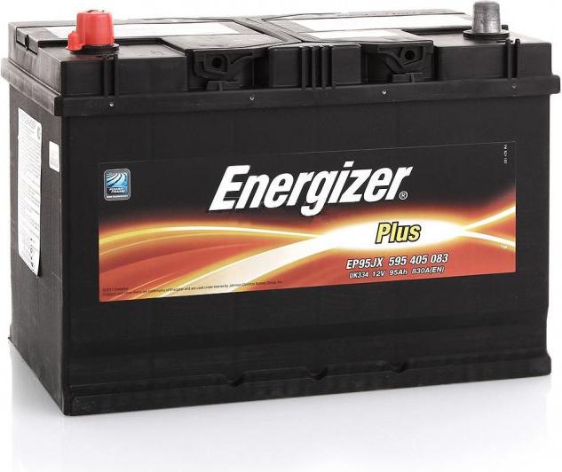 Energizer 95 Ah Jap (+ -) Plus akumuliatorius