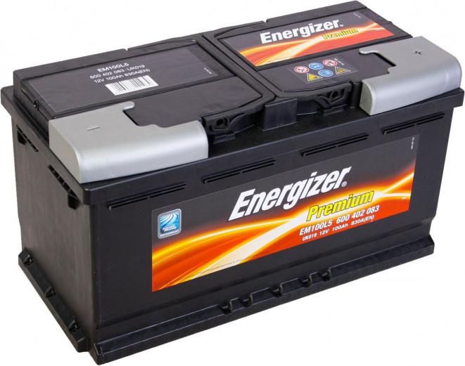 Energizer 100Ah Premium akumuliatorius
