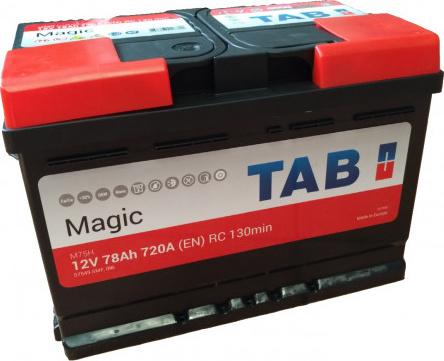 TAB 75Ah 700A Magic akumuliatorius
