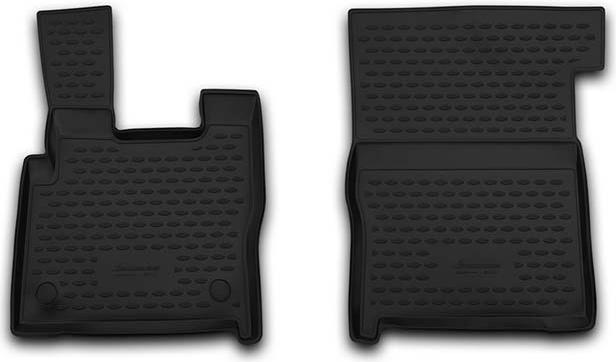 Kilimėliai 3D DAF XF 106 2014->, 2 pcs. black /L13002