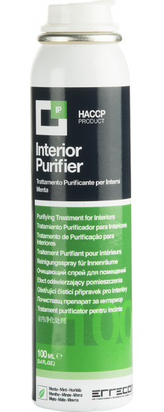 Oro kondicionieriaus valiklis / dezinfektantas (ERRECOM) AB1059.F.01 INTERIOR PURIFIER 0,1L
