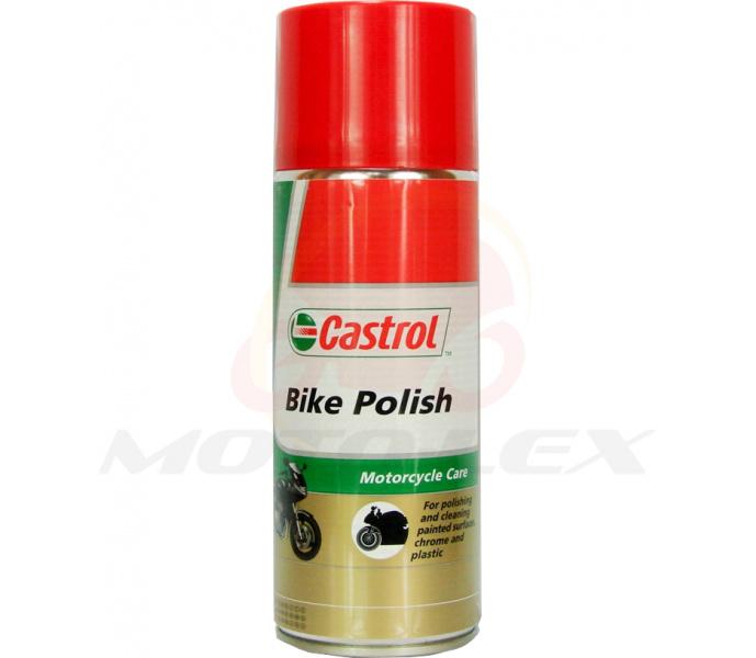 Dažytų paviršių atnaujintojas/blizgiklis (CASTROL) BIKE POLISH SPRAY 0,3L