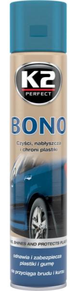 """PLASTMASINIŲ IR GUMINIŲ DETALIŲ POLIROLIS """"BONO"""" (K2) 10035"""