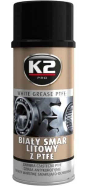 TEPALAS K2 PTFE WHITE GREASE 400ML