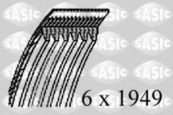 V formos rumbuoti diržai (SASIC) 1774066
