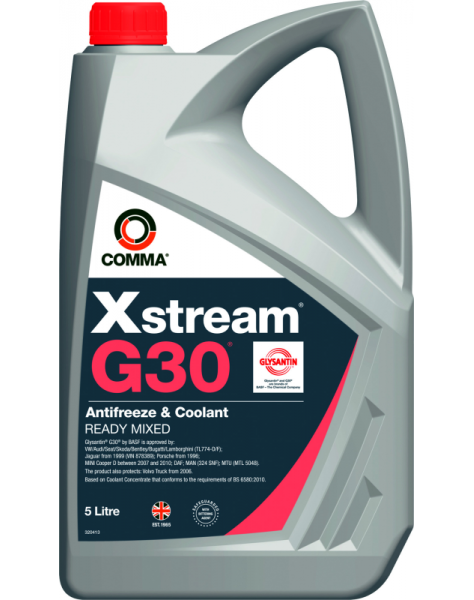 ANTIFRIZAS EXTREAM G30 RAUDONAS (COMMA) XSM5L
