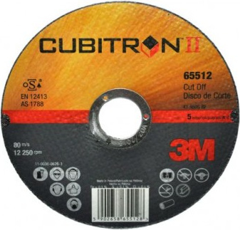 Pjovimo diskas (3M) 3M CUBITRON II, 125X1X22 MM