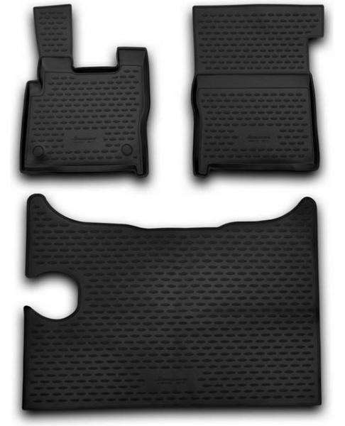 Guminiai kilimėliai 3D DAF XF 2014->, 3 pcs. /L13001