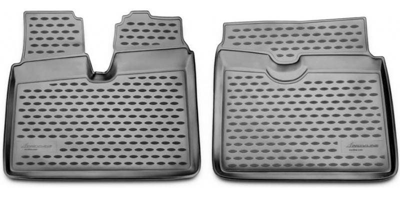 Guminiai kilimėliai 3D MAN TGA XXL 2012->, 2 pcs. /L43002G /gray