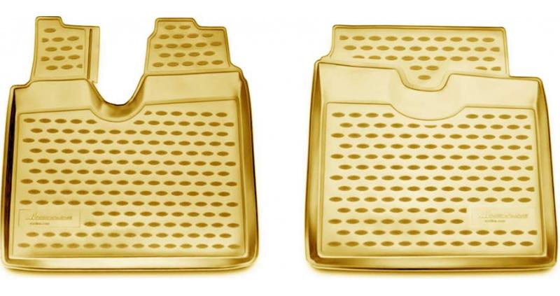 Guminiai kilimėliai 3D MAN TGA LX 2012->, 2 pcs. /L43001B /beige