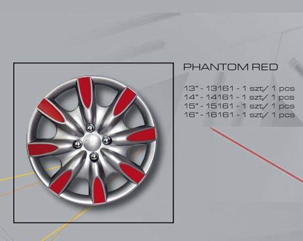 Rato gaubtas R15 PHANTOM RED 15161